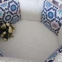 Бортики-подушки в кроватку, в Щелково