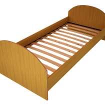 Кровать ЛДСП с ламелями, кровати для пожилых людей, в Ростове-на-Дону