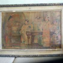 Старинная японская сюжетная картина, в Ростове-на-Дону