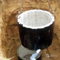 Септик из бетонных колец, сливная яма, в Рязани
