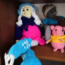 Вязаные куклы, в Астрахани