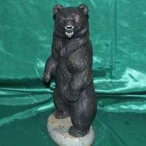 Медведь Берсерк авторская работа из натурального камня, в Перми