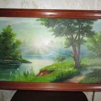 Картина с красивым пейзажем, в Коломне