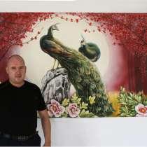 Декоративная роспись стен от дизайн студии Романа Москаленко, в г.Черновцы