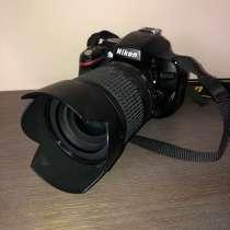 Продаю фотоаппарат Nikon D5100 и объектив, в Москве