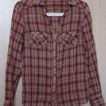 Блуза-рубашка, хлопок, Promod, р-44, в Новосибирске