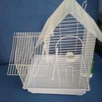 Две клетки для попугайчиков одна 300 руб вторая 250 руб, в Челябинске