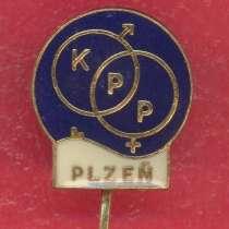 Чехословакия фрачный значок KPP Plzen фрачник, в Орле