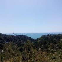 Панорамный земельный участок, 800м от пляжа Черного моря, в Туапсе
