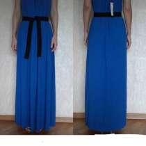 Платье новое Northland Италия М L 46 48 синее клёш длинное в, в Москве