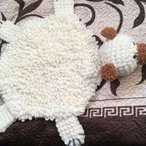 Фигурная подушка: сердце, губы, пончик; ковёр детский, в Старой Купавне