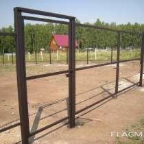 Ворота распашные и калитки, в Тейково