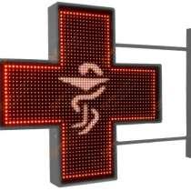 Аптечный крест 640x640мм красный, в Ярославле