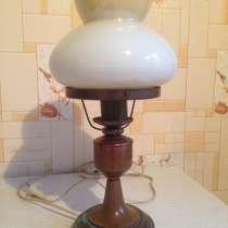 Лампа настольная, СССР, винтаж, в Москве