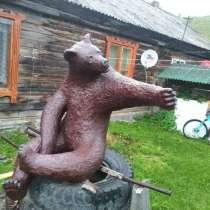 Медведь, бетон пустотелый каркасный, в Барнауле