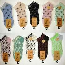 Стильные женские/детские носочки (короткие) На размер 34-38, в Москве
