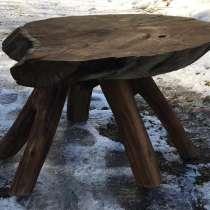 Стол из дуба спила слеб лофт, в Москве