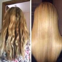 Кератиновое выпрямление волос и Эко Волюм-прикорневой объём!, в Уфе