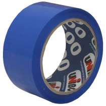 Клейкая лента упаковочная 48мм*66м UNIBOB 600 (синяя), в Краснодаре