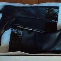 Сапоги женские, кожаные, лёгкие из Италии, в Краснодаре