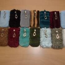 Новые сумочки на шею, меховые для сотовых телефонов, в Омске