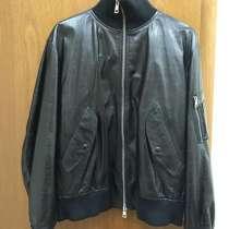 Мужская кожаная куртка Valentino, в Москве