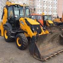 Аренда / услуги трактора экскаватора-погрузчика JCB в Раменс, в Раменское