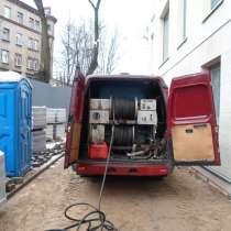 Гидродинамическая прочистка канализации, в г.Брест