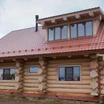 Дома из бревна рубленного под рубанок, в г.Гомель