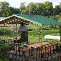 Беседка для сада и дачи, в Томске