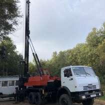 Сваебойная установка угмк12 на базе КамАЗа, в г.Минск