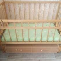 Кроватка-маятник с матрацем, в г.Гомель