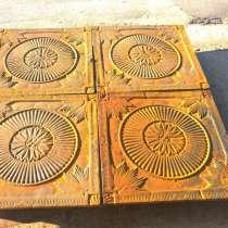 Напольные плиты из чугуна архитектурные 19 век, в Москве