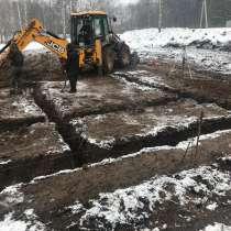Выполним работы по возведению фундамента, в Дмитрове