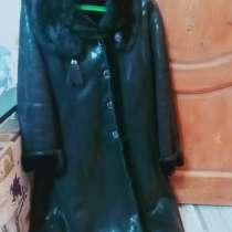 Дублёнка женская черная, в Волгодонске