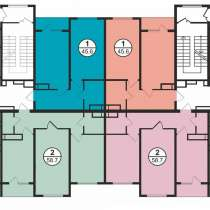 Продается 2-комнатная квартира, 58,7 м², ЖК Аспан сити, в г.Алматы