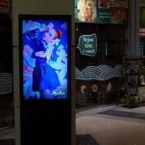 Вертикальные видео-стойки под ваш личный рекламный проект, в Иркутске