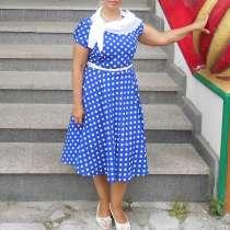 Платье шелковое летнее 46-48 размера, в Туле