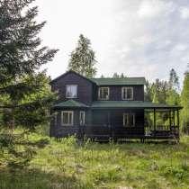 Продам участок с домом из бруса в 12 км от г Выборга, в Выборге