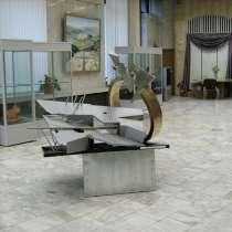 Абстрактная скульптура для интерьера из металла, в Санкт-Петербурге