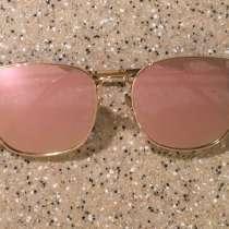 Солнцезащитные очки женские розовые, в Москве