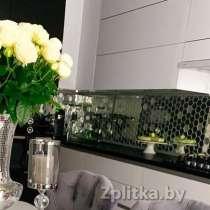 Зеркальная мозаика сотами для внутренних отделочных работ, в г.Минск