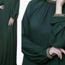 Платье штапельное бордовое, в Баксане