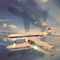 """Модель самолета """"Caravelle"""".1/144, в Иркутске"""