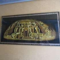 Папирус в раме под стеклом храм, в г.Черновцы