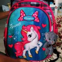 Рюкзак детский с брелоком для девочек, в Санкт-Петербурге