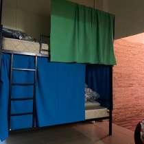 Койко-место в комфортабельном хостеле, в Москве