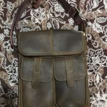 Мужская сумка из натуральной кожи, в Новороссийске