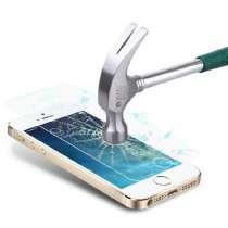 Стекло, протектор экрана 0.26мм для iPhone 5, 5s, в Белово