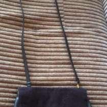 Женская чёрная сумка через плечо, в Омске